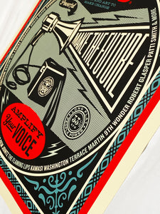 SHEPARD FAIREY 'Flood: Save our Stages' Screen Print