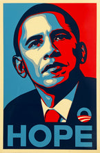 Load image into Gallery viewer, SHEPARD FAIREY 'Hope' (Obama) 4x6 In. Sticker