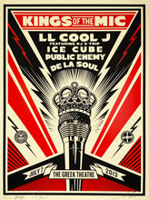 Load image into Gallery viewer, SHEPARD FAIREY 'Kings of the Mic' Screen Print
