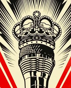 SHEPARD FAIREY 'Kings of the Mic' Screen Print