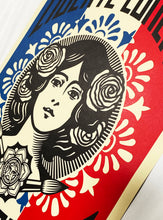 Load image into Gallery viewer, SHEPARD FAIREY 'Liberte, Egalite, Fraternite' Offset Lithograph Print - Signari Gallery