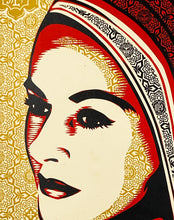 Load image into Gallery viewer, SHEPARD FAIREY 'Peace Woman' (2008) Screen Print