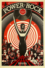 Load image into Gallery viewer, SHEPARD FAIREY 'The Power of Rock' Offset Lithograph