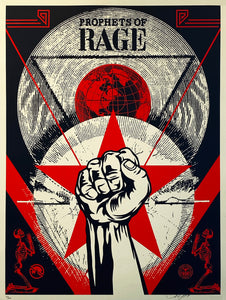 SHEPARD FAIREY 'Prophets of Rage: New Day Rising' Screen Print