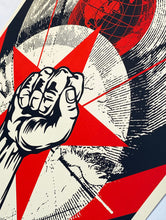 Load image into Gallery viewer, SHEPARD FAIREY 'Prophets of Rage: New Day Rising' Screen Print