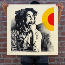 Load image into Gallery viewer, SHEPARD FAIREY 'Bob Marley: Sun is Shining' Screen Print