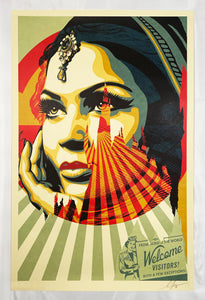 SHEPARD FAIREY 'Target Exceptions' Offset Lithograph