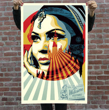 Load image into Gallery viewer, SHEPARD FAIREY 'Target Exceptions' Offset Lithograph