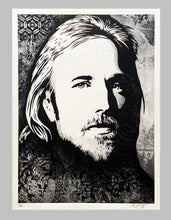 Load image into Gallery viewer, SHEPARD FAIREY 'Tom Petty: An American Treasure' (Canvas) Screen Print - Signari Gallery