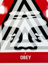 Load image into Gallery viewer, SHEPARD FAIREY 'Unyielding' Reflective Street Sign