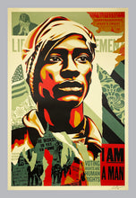 Load image into Gallery viewer, SHEPARD FAIREY 'Voting Rights are Human Rights' Offset Litho