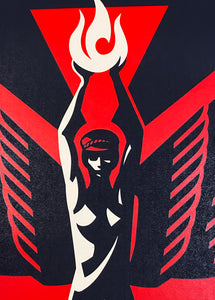 SHEPARD FAIREY 'We Own the Future' Screen Print