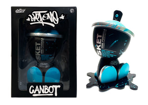 SKET ONE 'CanBot' (cyan) Hand-Finished/Signed Art Figure