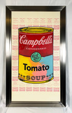 Load image into Gallery viewer, STEVE KAUFMAN 'Campbell's Tomato Soup' HPM on Canvas Framed