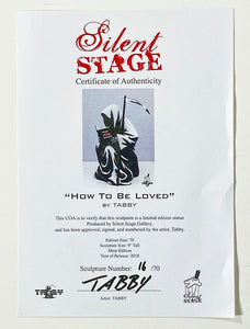 TABBY 'How to be Loved' Art Figure - Signari Gallery