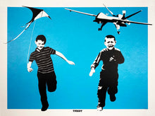 Load image into Gallery viewer, TABBY 'The Wonder Years' (blue) Screen Print - Signari Gallery