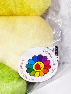 TAKASHI MURAKAMI x Kaikai Kiki 'Flowers (rainbow)' Plush Cushion