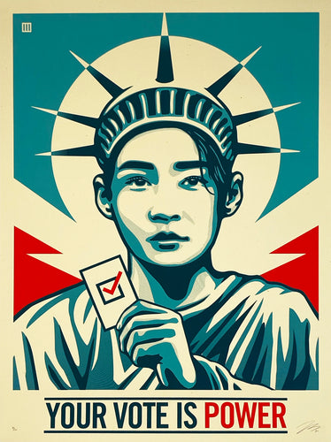 THOMAS WIMBERLY 'Your Vote is Power' Screen Print