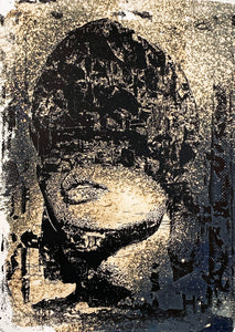 VHILS 'Dusk' Hand-Finished Screen Print
