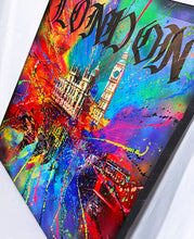 Load image into Gallery viewer, YORIS 'London is London' Original on Canvas