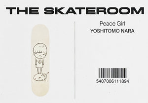 YOSHITOMO NARA 'Peace Girl' Skateboard Deck