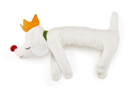 YOSHITOMO NARA 'Pup King' Plush Dog Figure