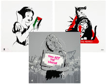 Load image into Gallery viewer, ZEDSY 'Bethlehem' Walled Off Hotel 3-Print SET - Signari Gallery