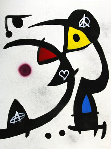 ZIEGLER T 'My Kid Just Ruined my Miro' Original on Paper - Signari Gallery