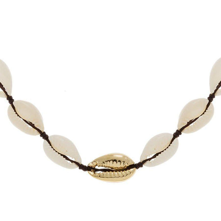 Collier coquillage Tao