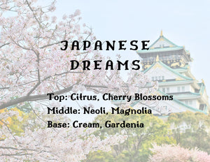 Japanese Dreams Candle - Gardenia + Citrus