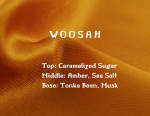 Woosahh Candle - White Musk + Brown Sugar