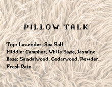Load image into Gallery viewer, Pillow Talk Candle - White Sage + Lavender + Rainfall
