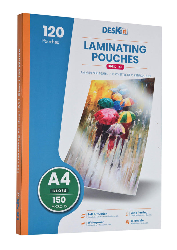 A4 laminating sheets DESKIT GLOSS