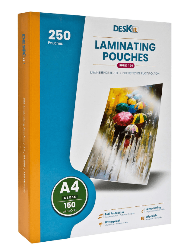 Laminating Pouches A4 (Gloss) Bulk Pack