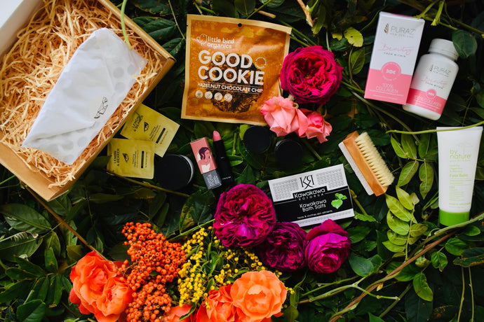 Small box business meets big beauty brand...