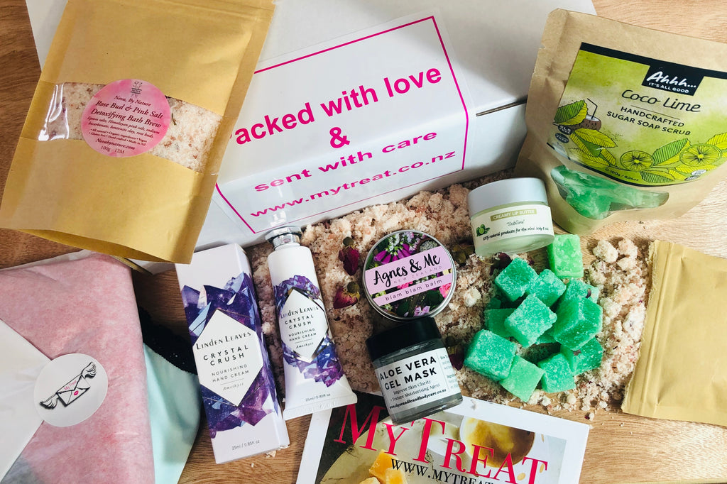 Self Care and Antioxidants inside this months box