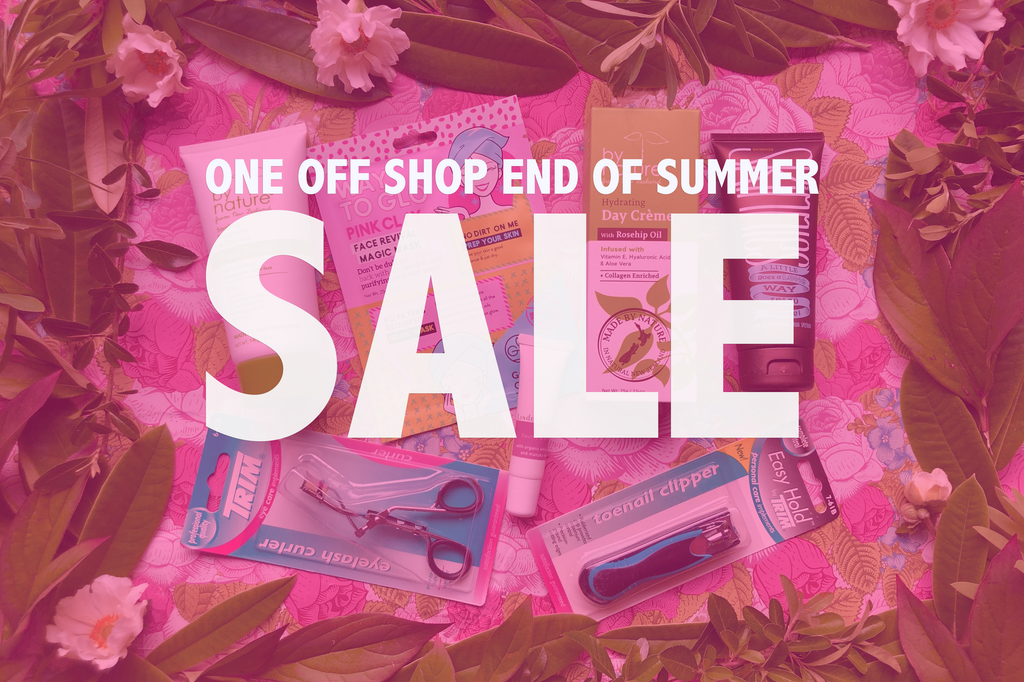 End of summer sale... one off shop