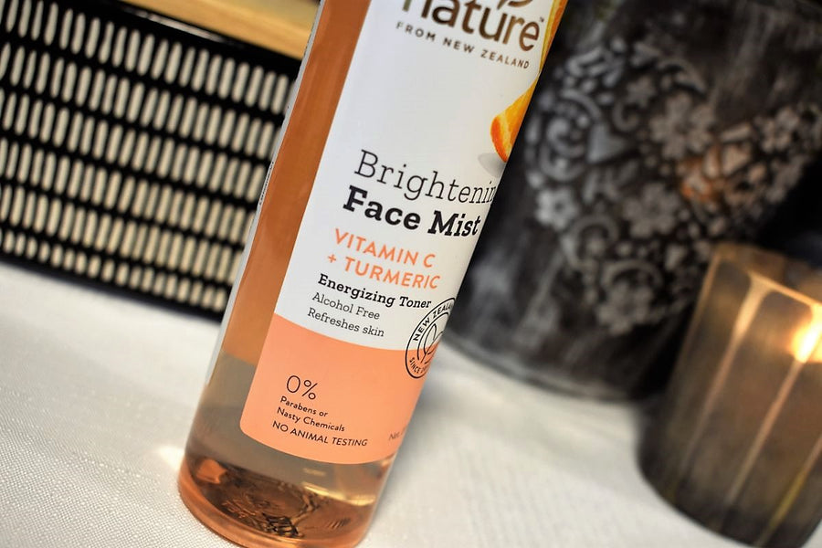 By Nature Brightening Face Mist