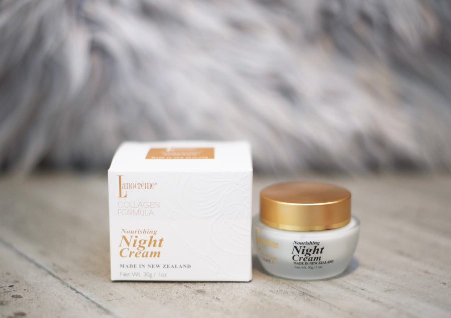 Lanocreme Collagen Gold Night Cream