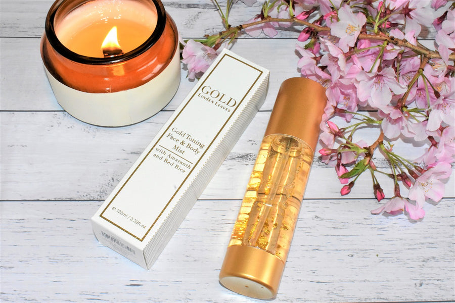 Linden Leaves Gold Toning Mist