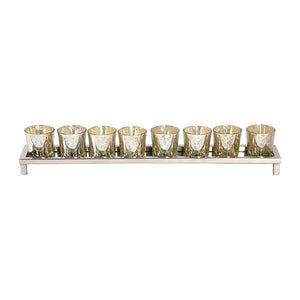 8 TEALIGHT HOLDER ON STAND