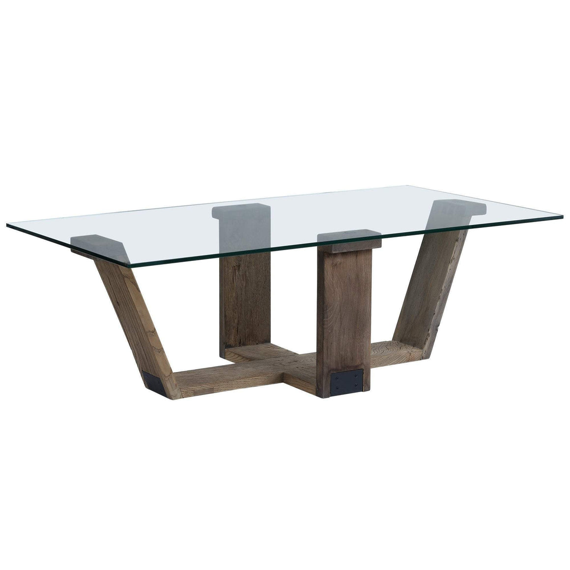 Adia Glass Top Coffee Table