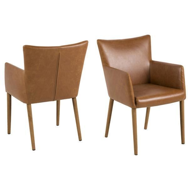 KORI CARVER CHAIR PU LEATHER