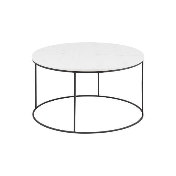 Arlo Round Marble Coffee Table