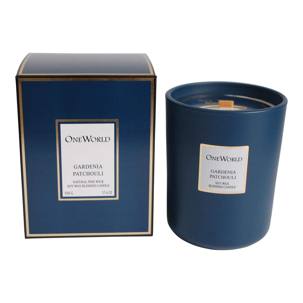 MOULIN CANDLE GARDENIA PATCHOULI 500G