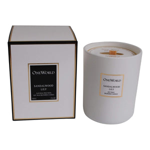 BAYEUX CANDLE SANDALWOOD & LILY 500G