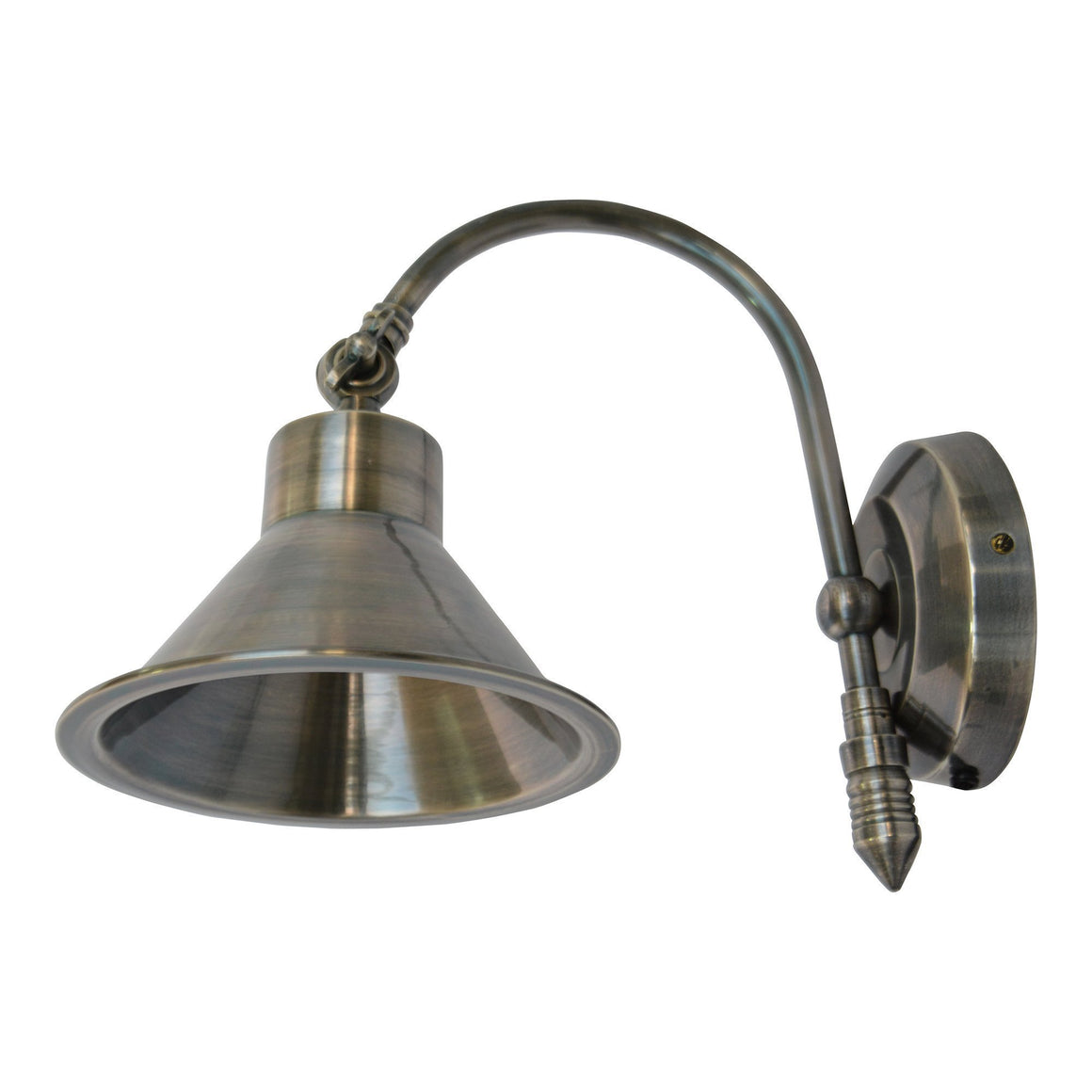 ANT SILVER BELL WALL SCONCE