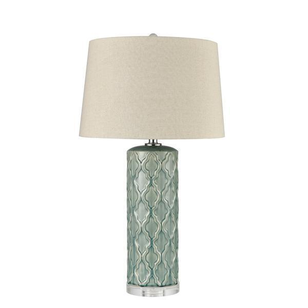 CORA CERAMIC TABLE LAMP W/ SHADE