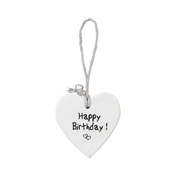 CERAMIC HEART HAPPY BIRTHDAY