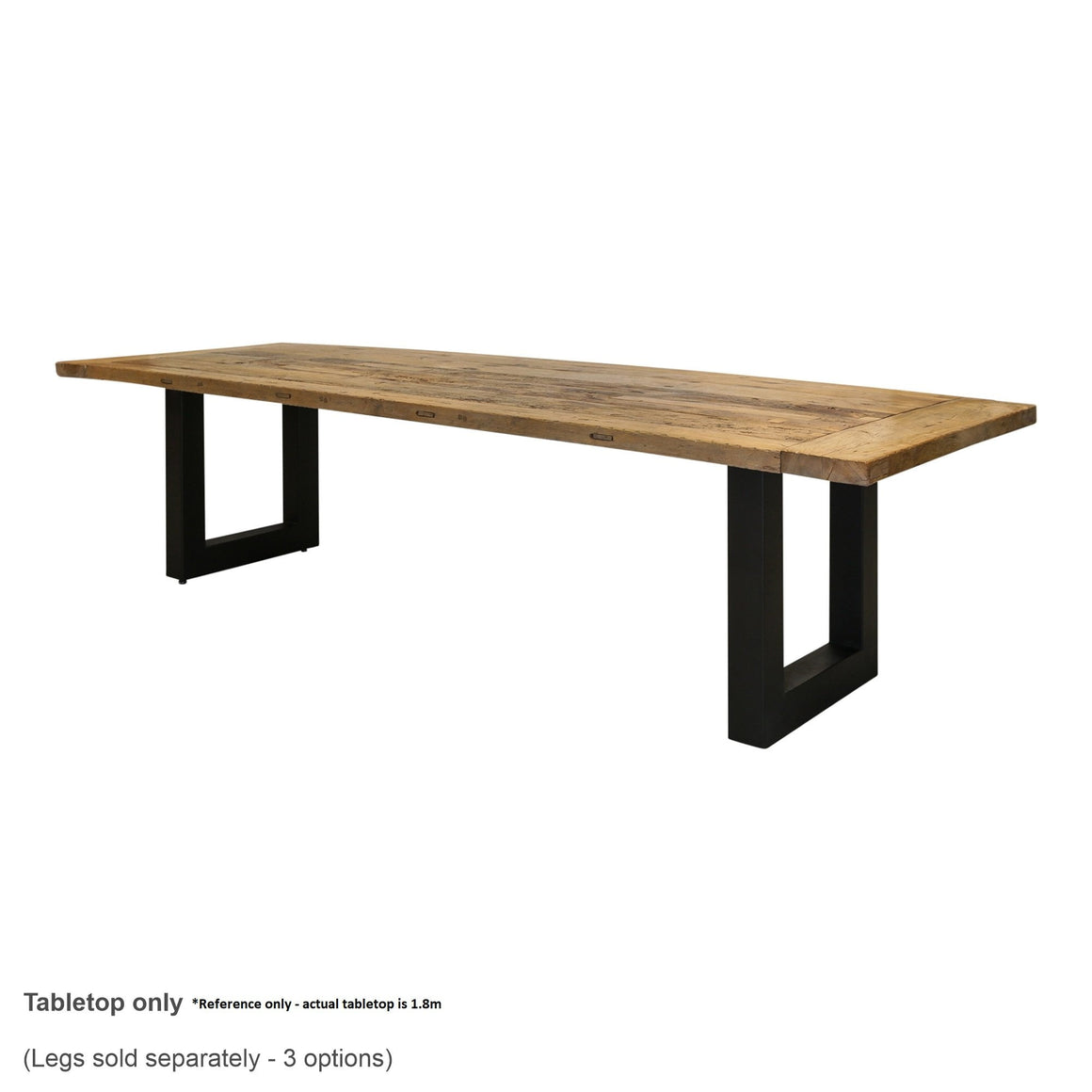 BOATWOOD TABLETOP 1.8M - TOP ONLY